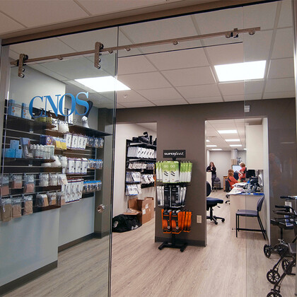 CNOS's on-site durable medical equipment store saves you a trip.